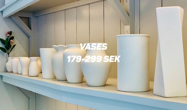 Vases at Made by Me Malmö