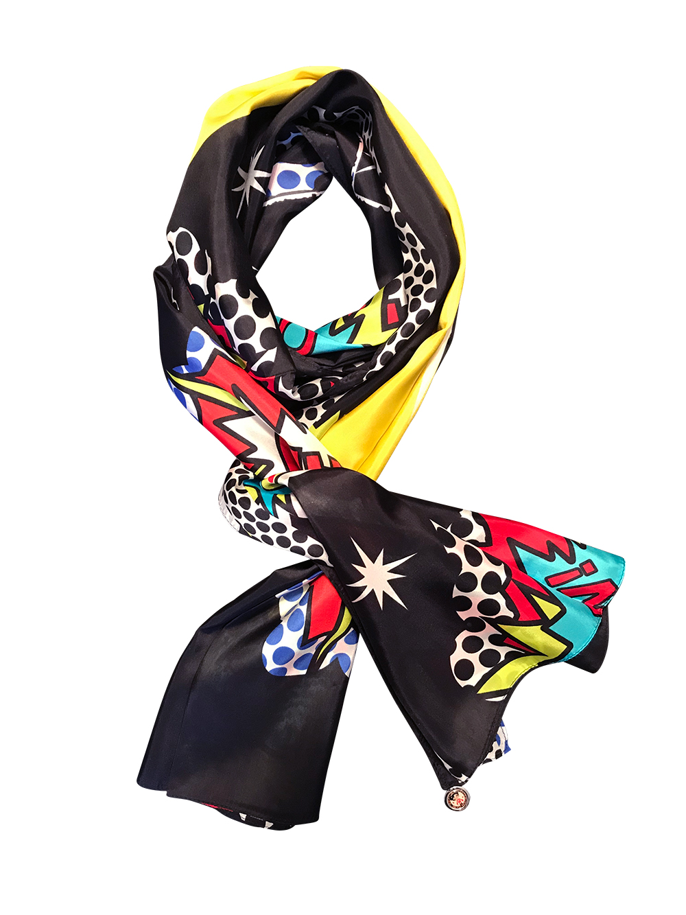 Modesty silk scarf