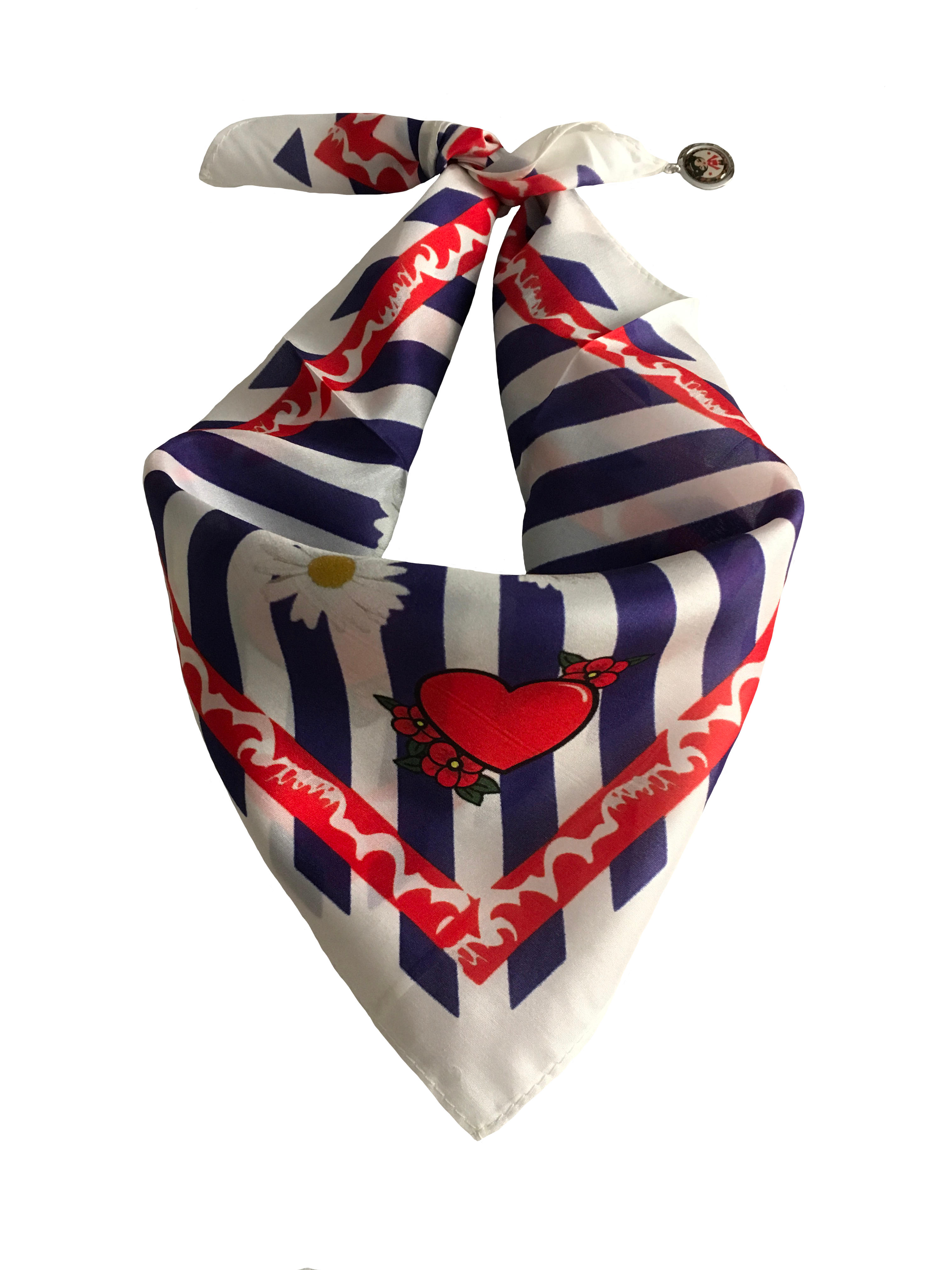 Love & Roses silk scarf
