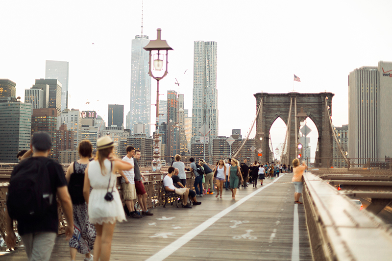 New York and Brooklyn bridge photographer