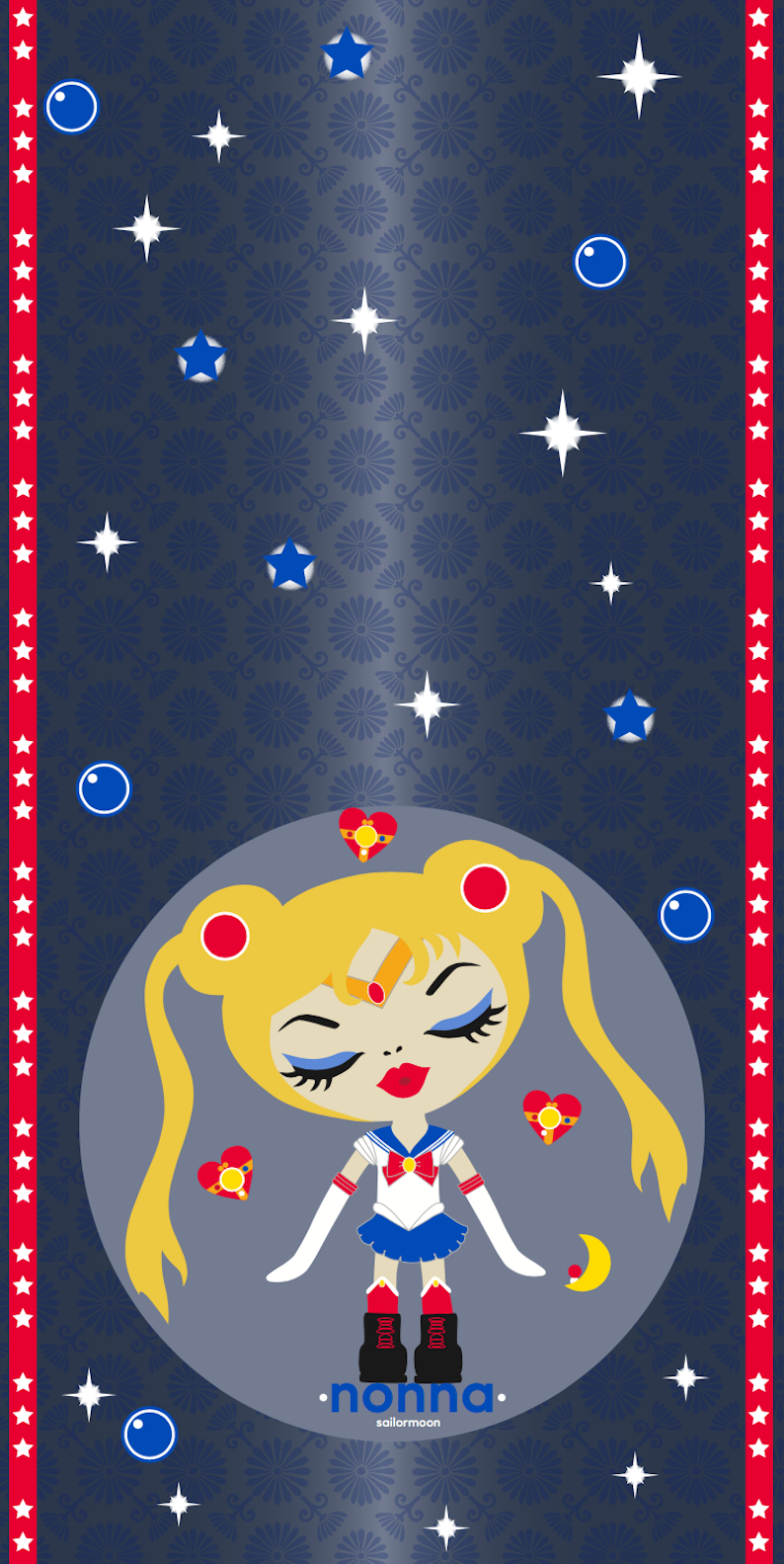 Sailormoon silk scarf
