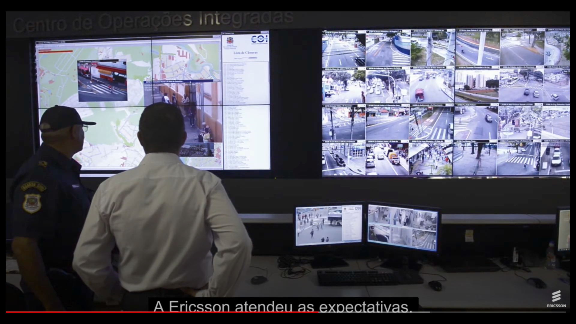 VideONet VMS with Video wall in Sao Jose dos Campos, SP, Brasil - Reissue from 2017