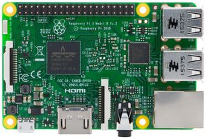 Enkortsdator Raspberry Pi 3 Model B