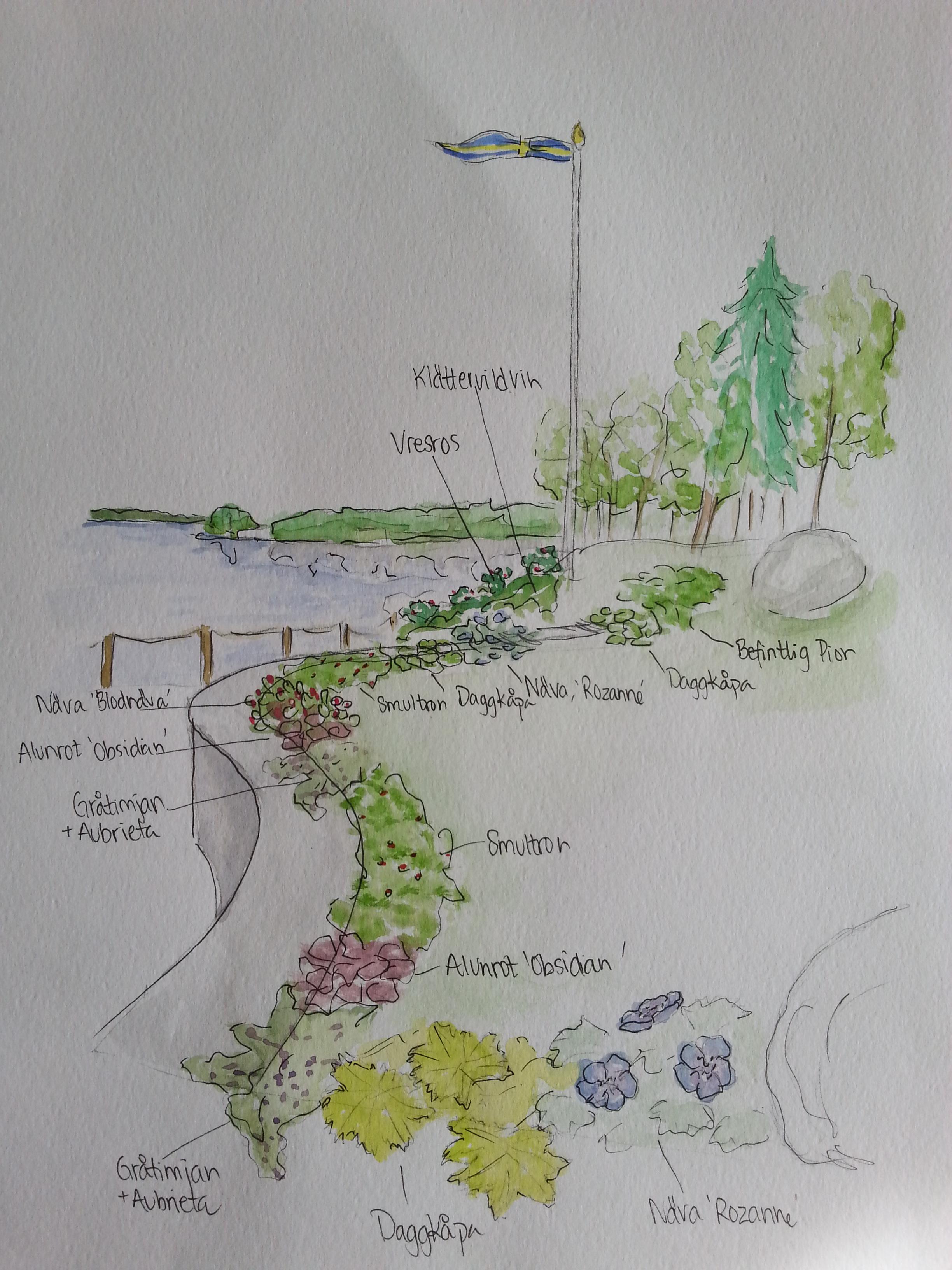 Trädgårdsdesign portfolio