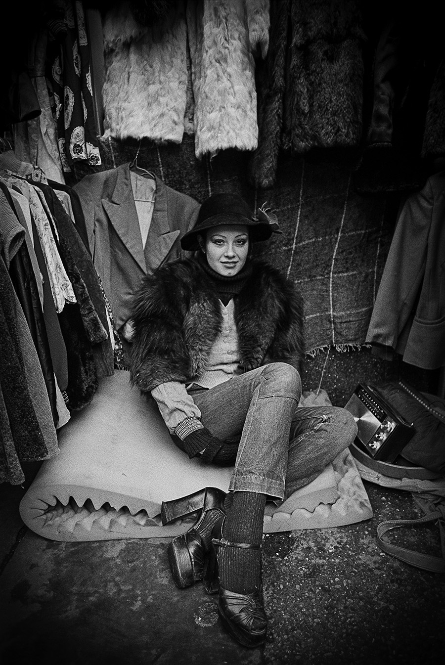 Fleemarket at Portobello Road, London 1974