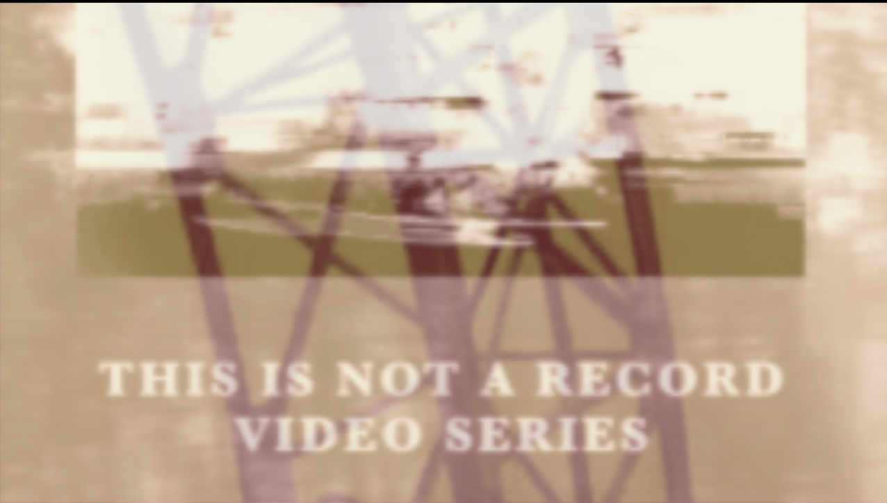 Tim Schmidt: This is not a record video series