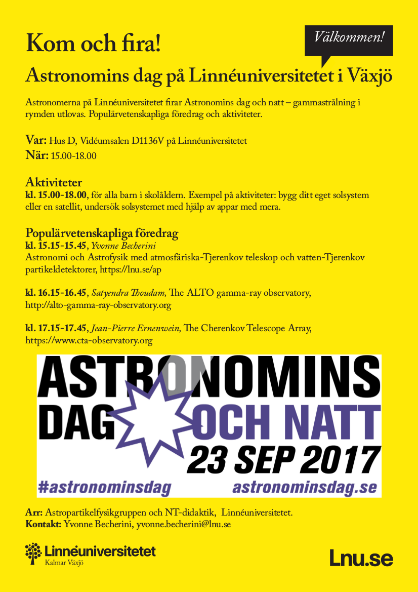 Astronomins dag posterpng