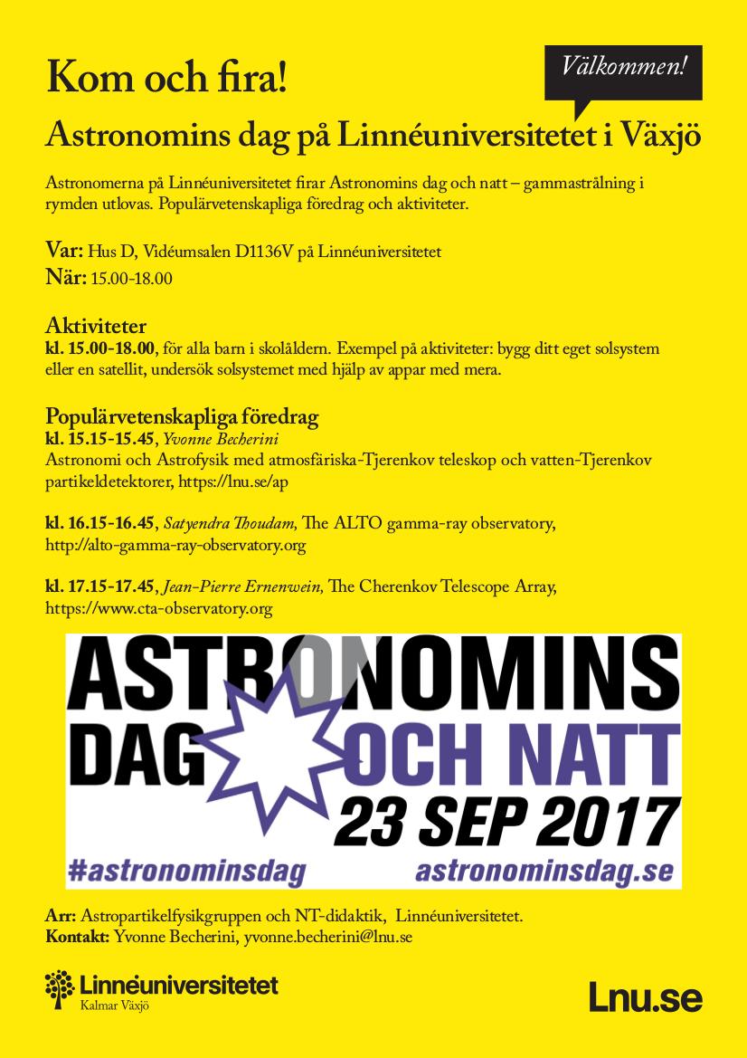 Astronomins dag posterpng