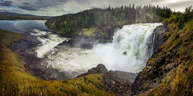 stora vattenfall i sverige