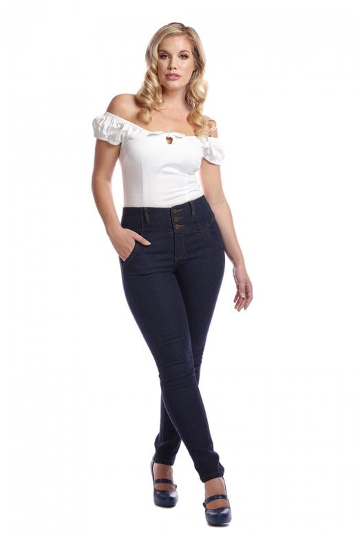 Collectifs Rebel Kate Stretch denim Jeans stl XS-4XL