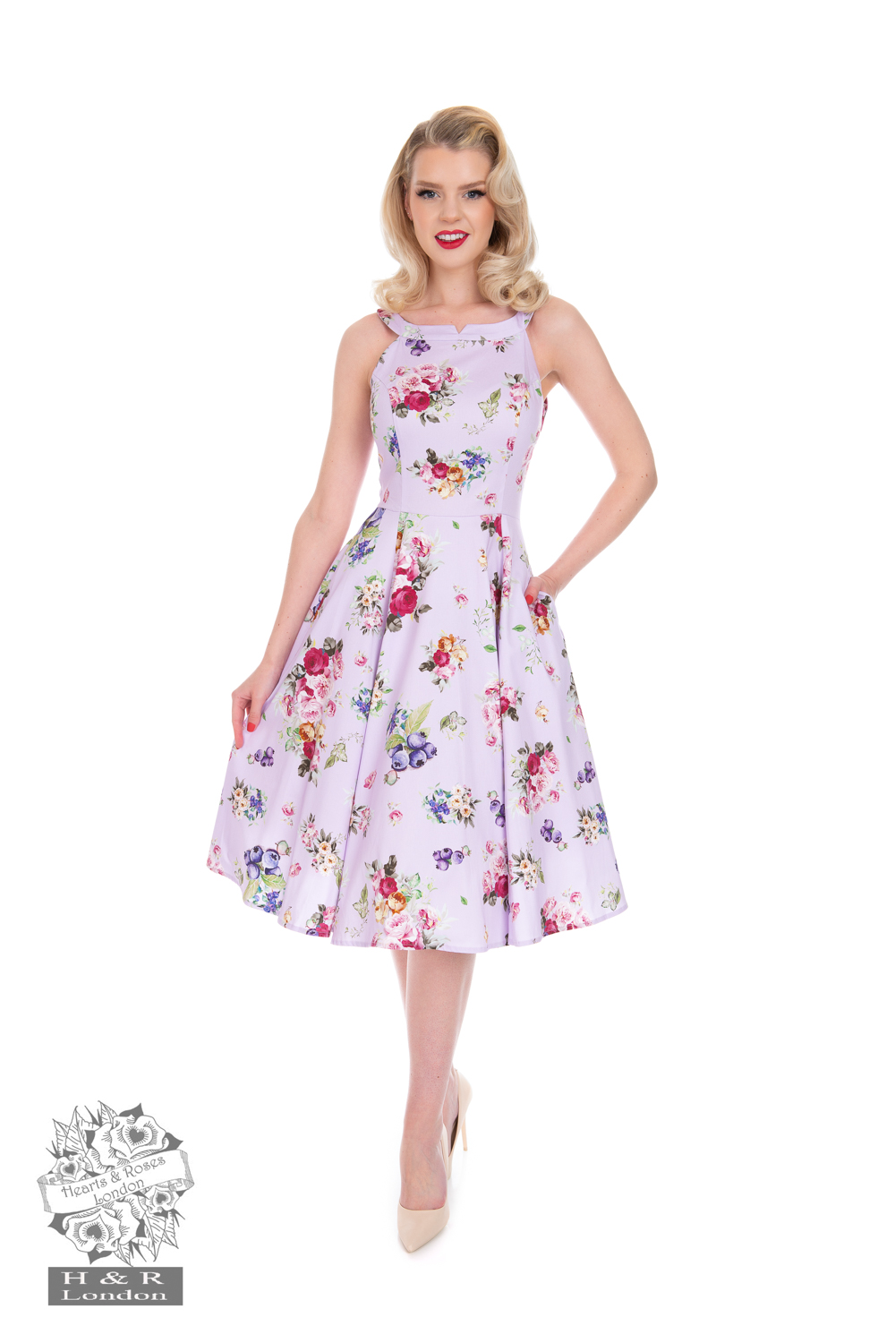 Heart&Roses  Annei swingdress stl XS-2XL