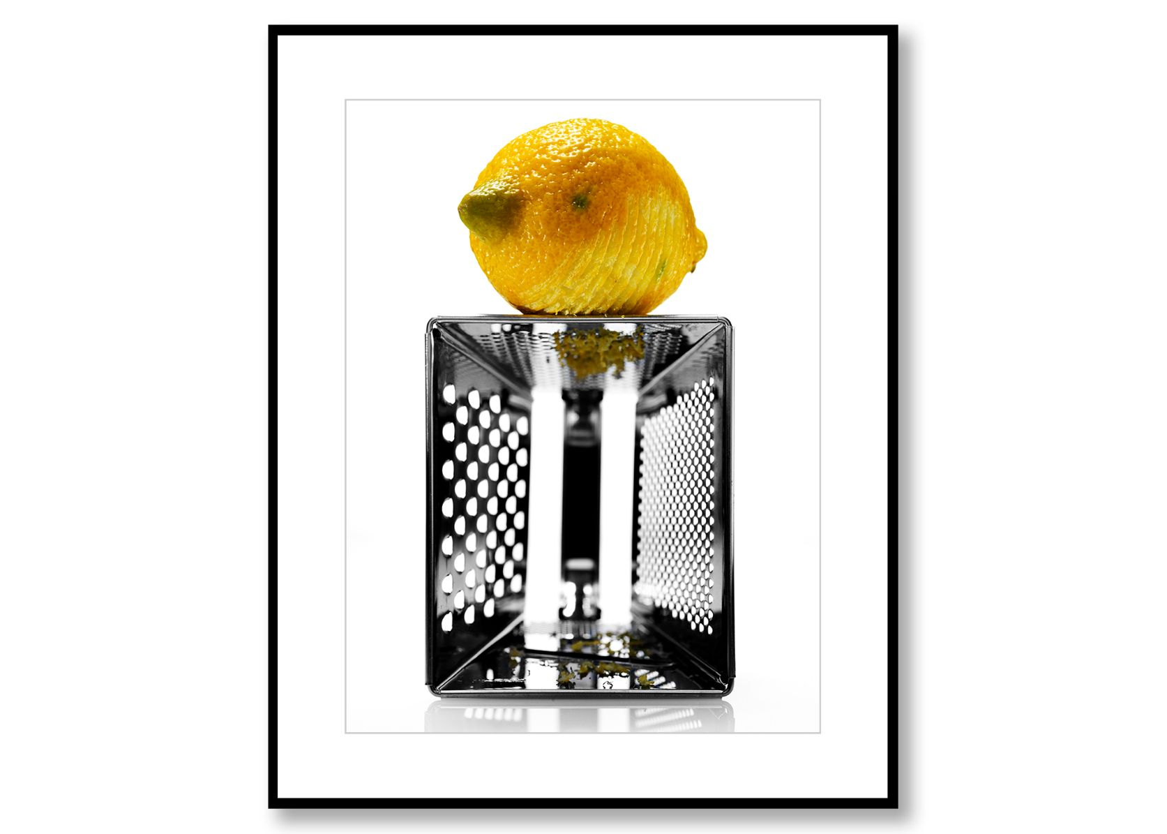 Lemon. Food art. Prints for sale. Photo by Fredrik Rege