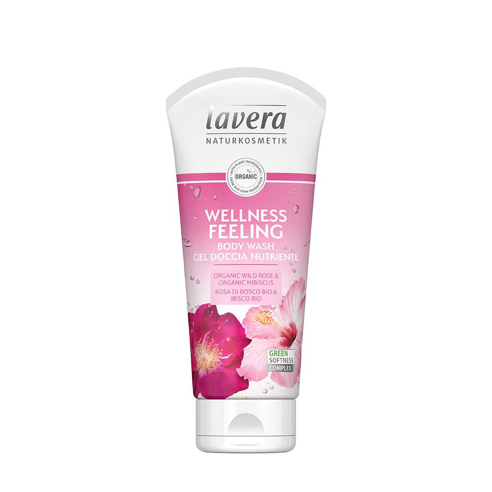 LAVERA Body Wash Wellness Feeling (Rose) 200ml