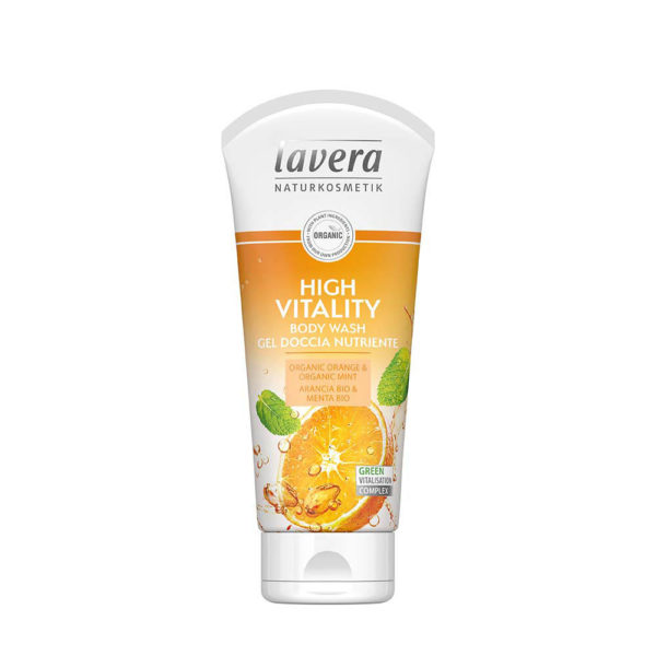 LAVERA Body Wash High Vitality (Orange) 200ml