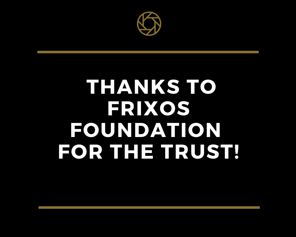 Prize-winning the Frixos Foundation Scholarship 2019 / Vinnare av Frixos Stifelsens stipendie 2019!