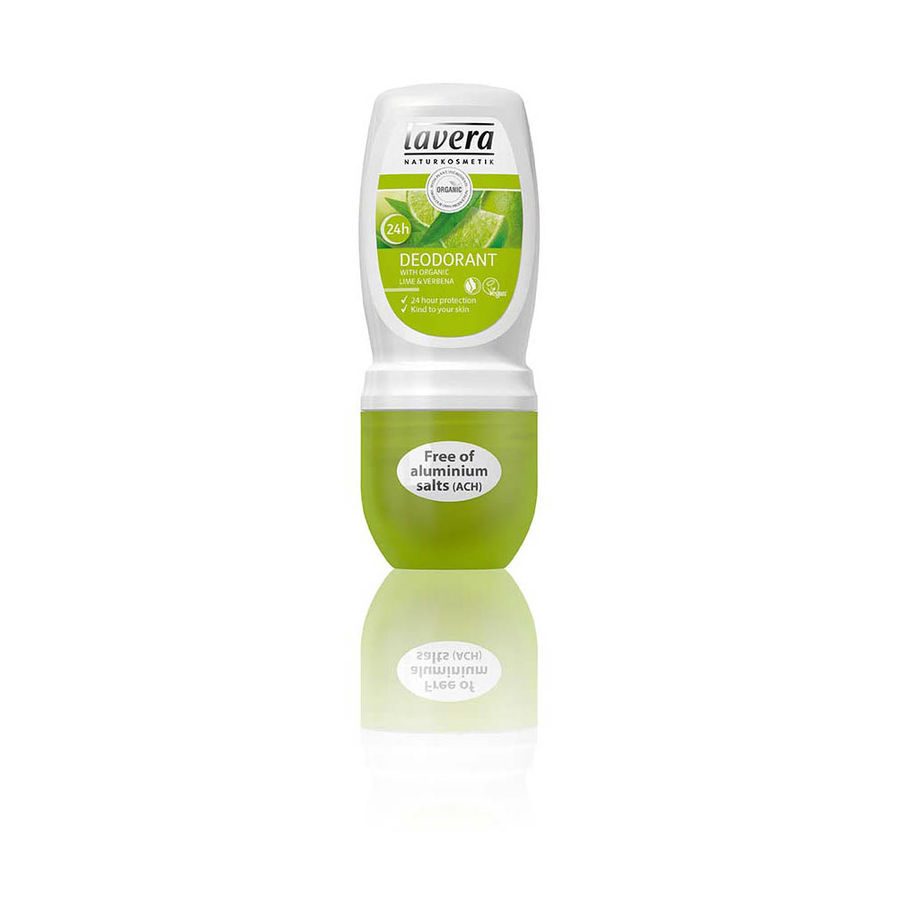 LAVERA Gentle Deodorant Roll-On Lime 50ml