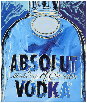 Spritmuseum - Absolut Warhol Blue