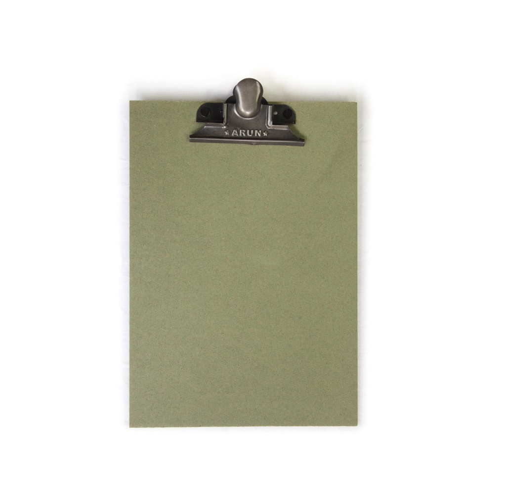 CLIPBOARD GREEN