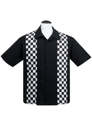 Steadys  Checkered mini panel skjorta/shirt stl XS-4XL