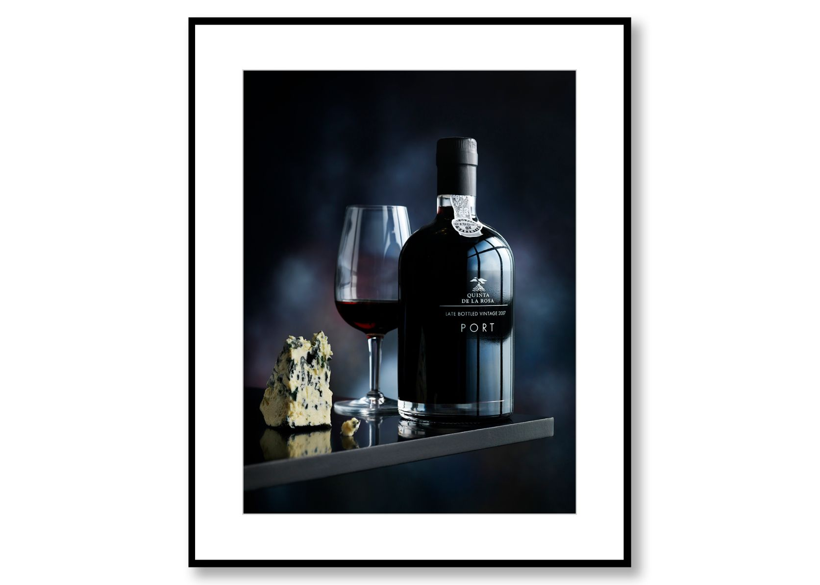Port & Cheese. Food Art. Prints for sale. Photo by Fredrik Rege