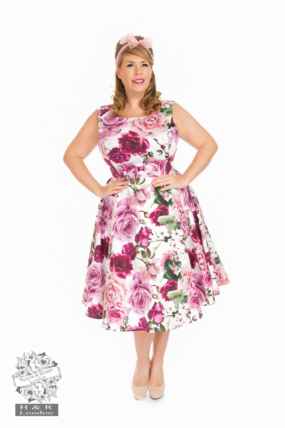 Heart&Roses  Alice swingdress stl 2XL-6XL