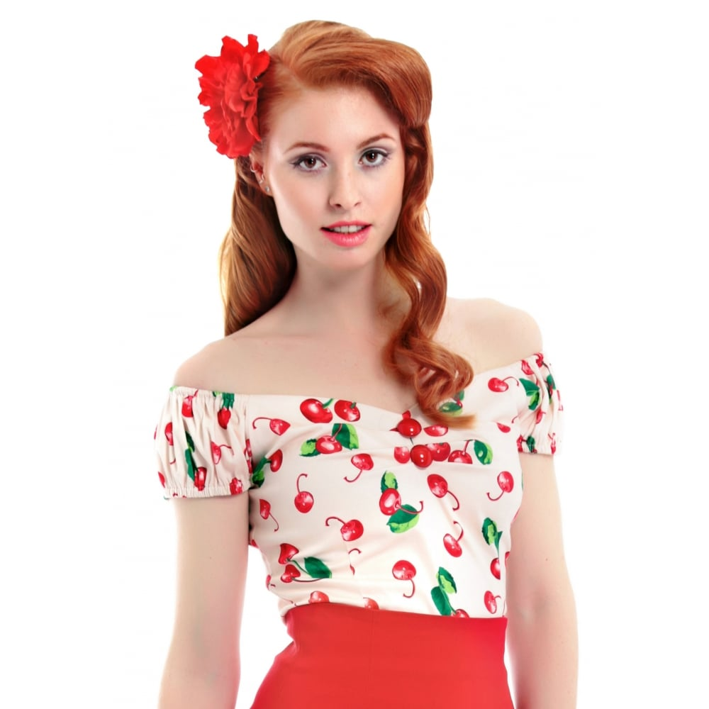 Collectif Cherry50`top stl XS, M, 2XL