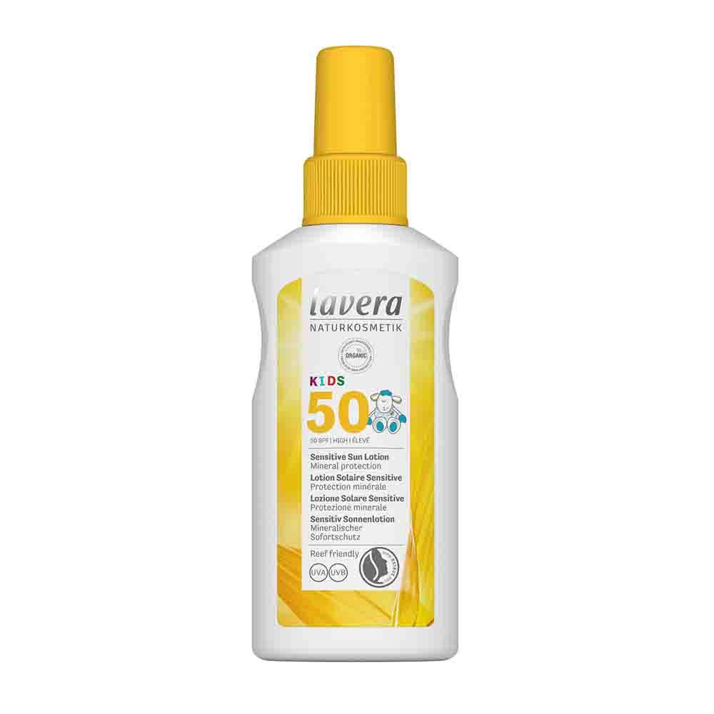 LAVERA Kids Sensitive Sun Lotion Spf 50 100ml