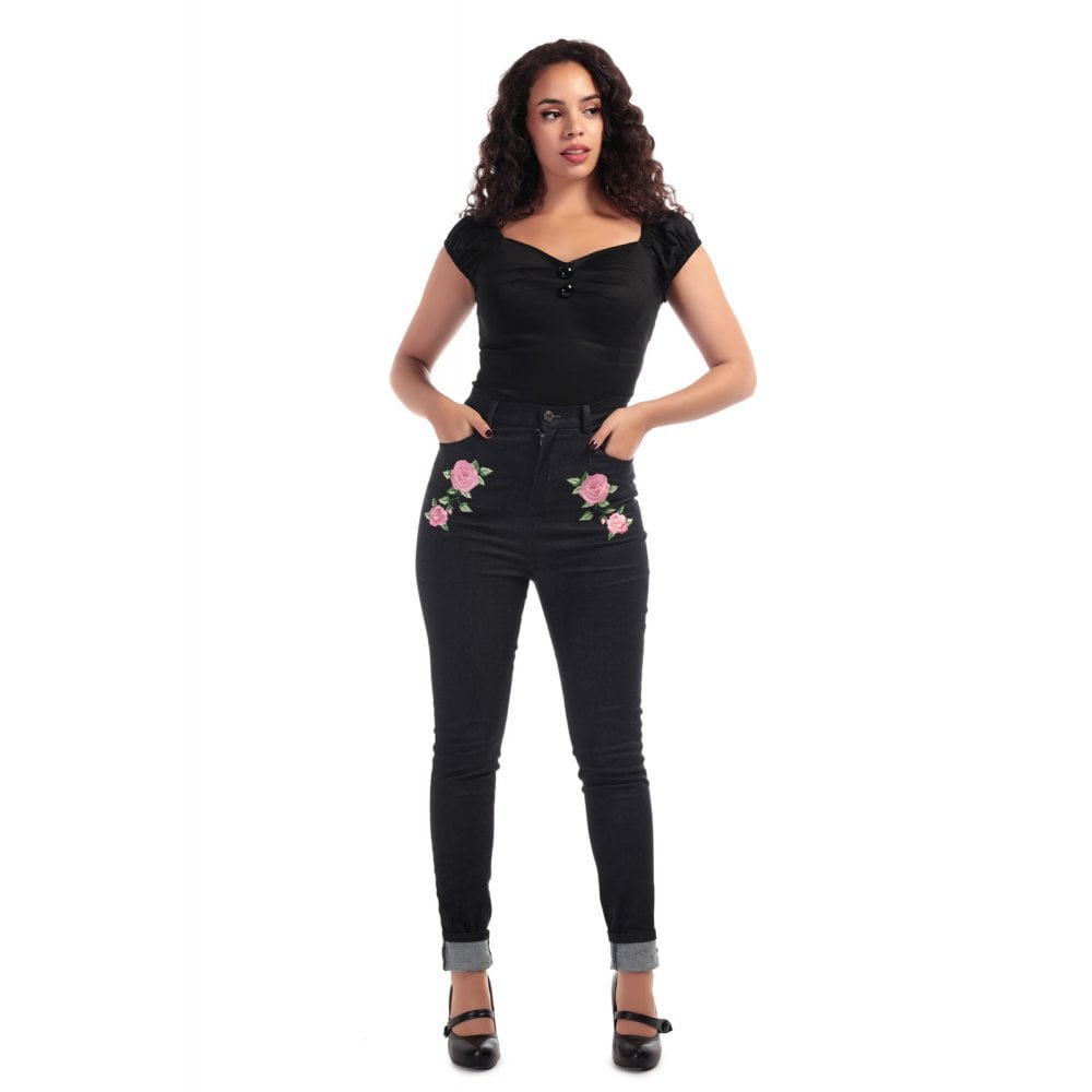 Collectifs Beeca Rose jeans stl XL