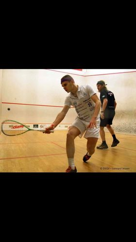 Intersquash vinner 15-manna