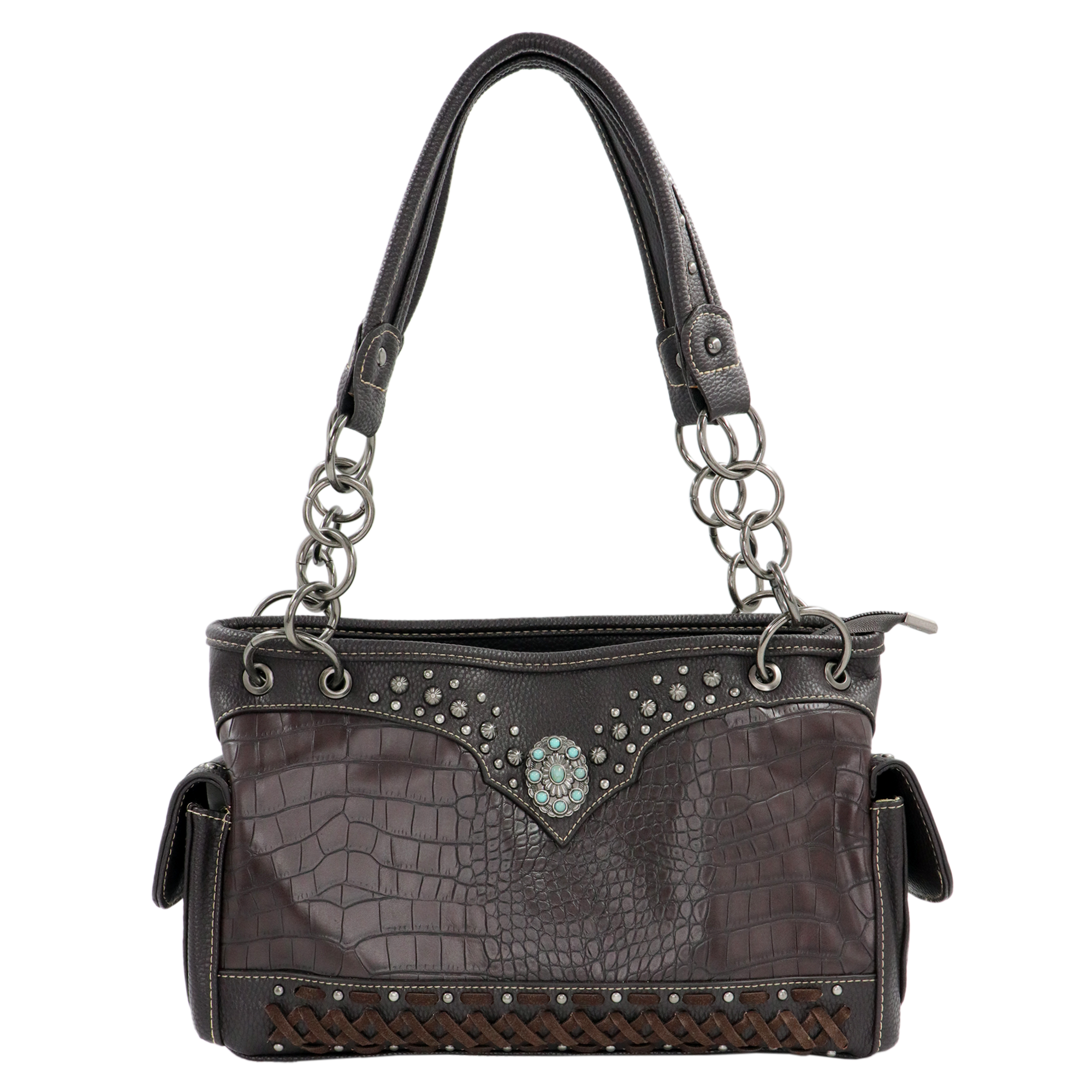 Satchel American Bling Coffee
