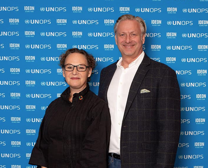 SBI at the opening of UNOPS GIC Sweden