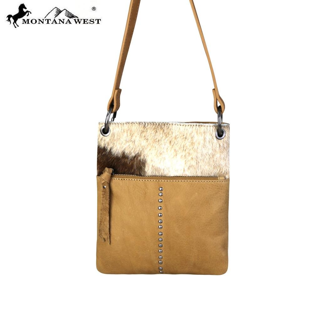 Crossbody handbag tan