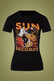 "Steady Sun Records ""Sun Lindy Hop"" girl tee stl S-3XL"