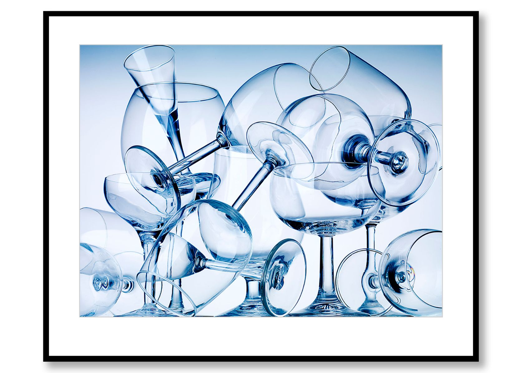 Glasses. Food Art. Prints for sale. Photo by Fredrik Rege
