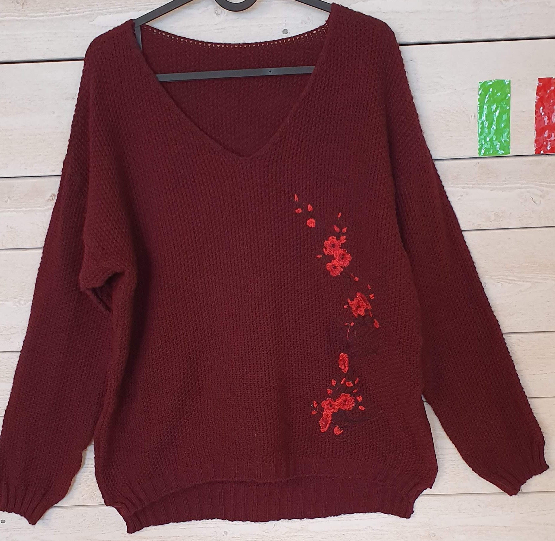 Sweater Made in Italy REA