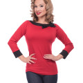 Steady Solid Boatneck Bow top stl S-4XL