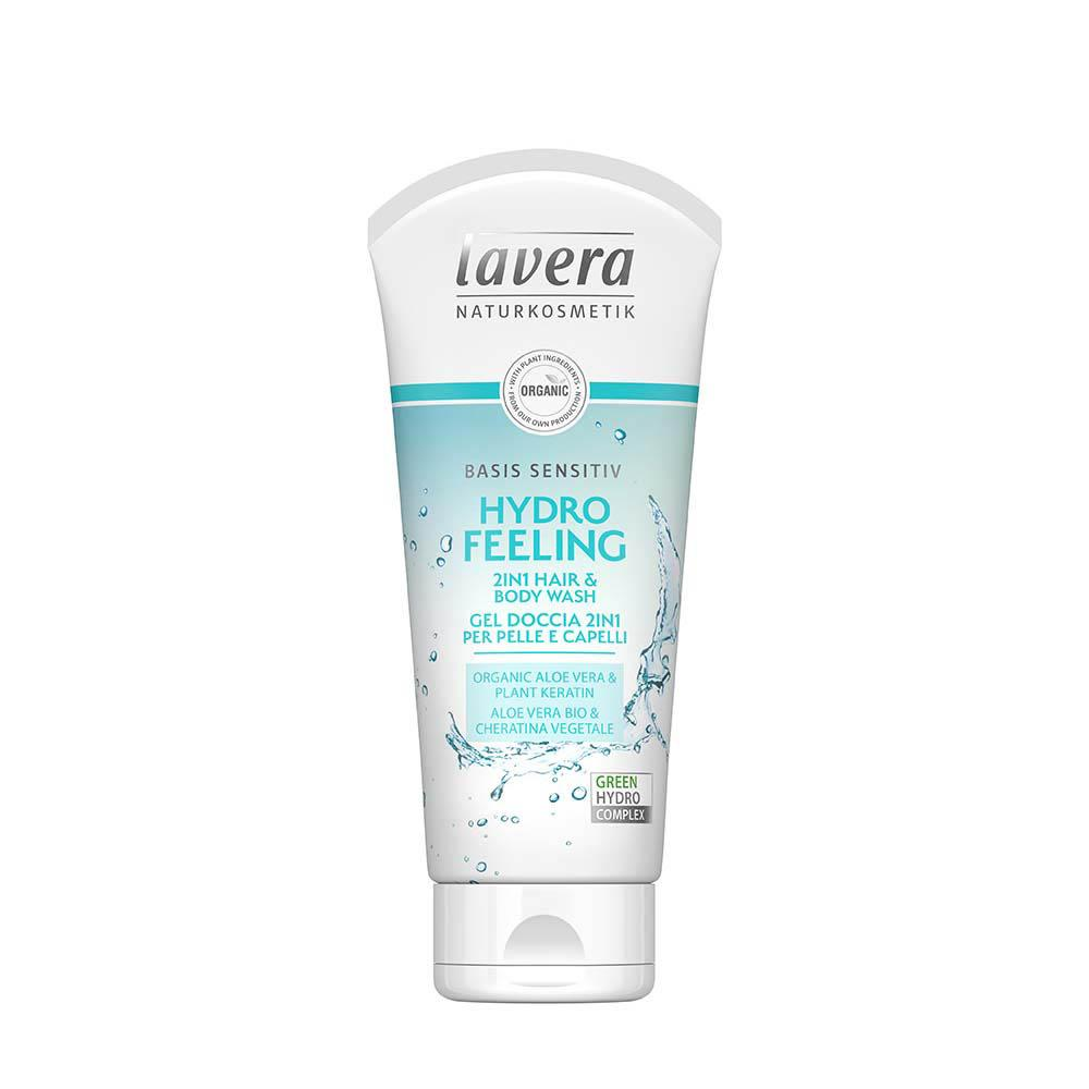 LAVERA Basis Sensitiv 2in1 Body & Hair Wash Hydro Feeling 200ml