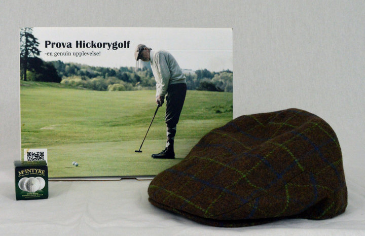 Hickory golf experience for 2 people in Stockholm