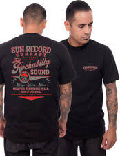 "Steady  Sun Records #That Rockabilly Sound"" men`s tee stl S-3XL"