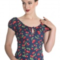 Hellbunny April Cherry top stl XS-2XL