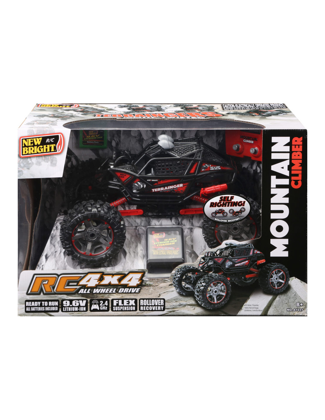 New Bright 1:10 4x4 Mountain Climber