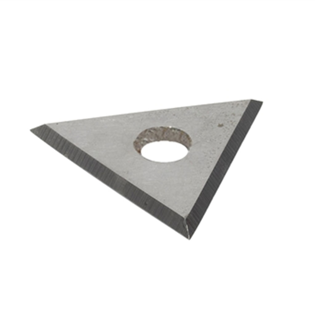 Triangular blade for the Paving hoe