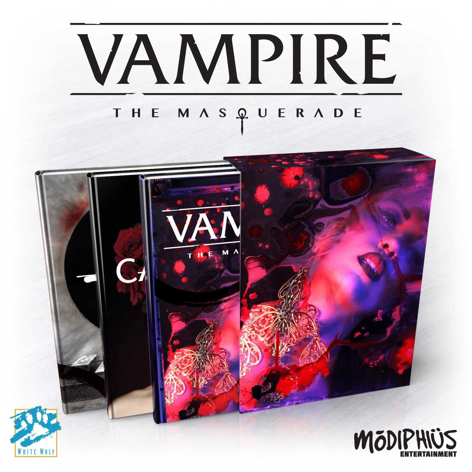 Vampire: the Masquerade (5th edition) - Slipcase Set