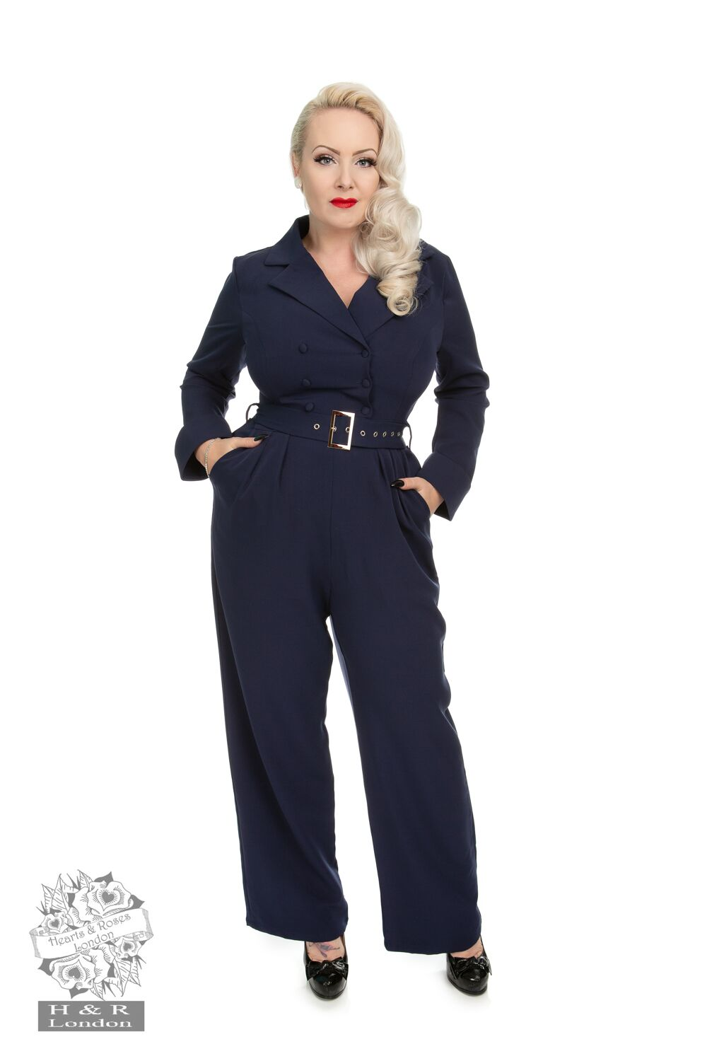 Heart&roses Bettie jumpsuit stl XS-2XL