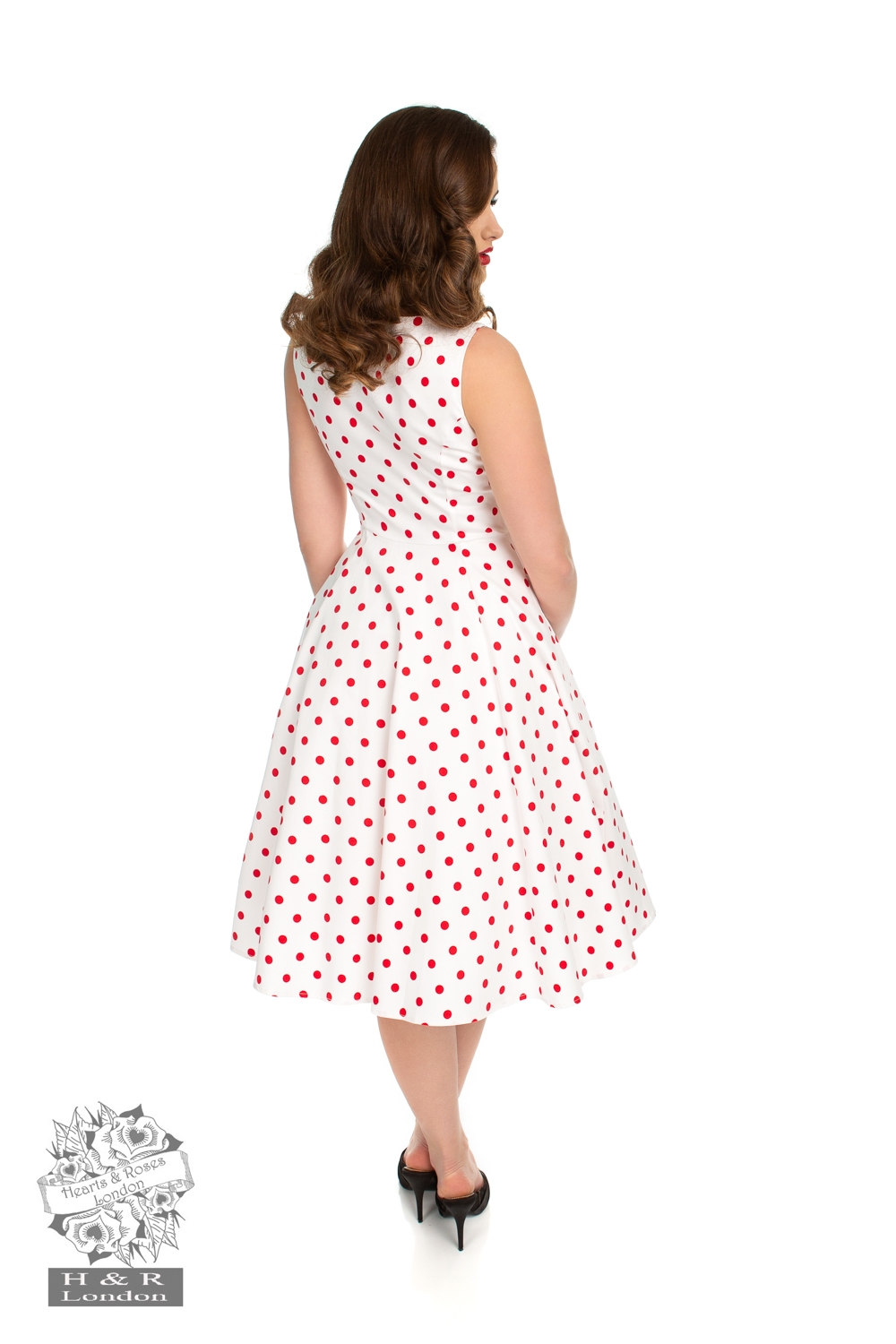 Heart&Roses  Cindy prickig dress  flera färger stl 2XL-6XL