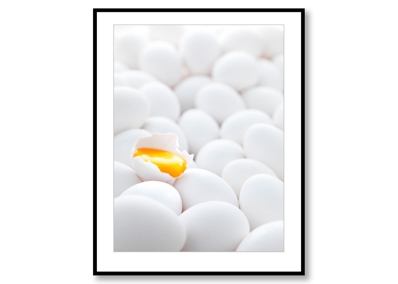 Eggs. Food Art. Prints for Sale. Photo by Fredrik rege