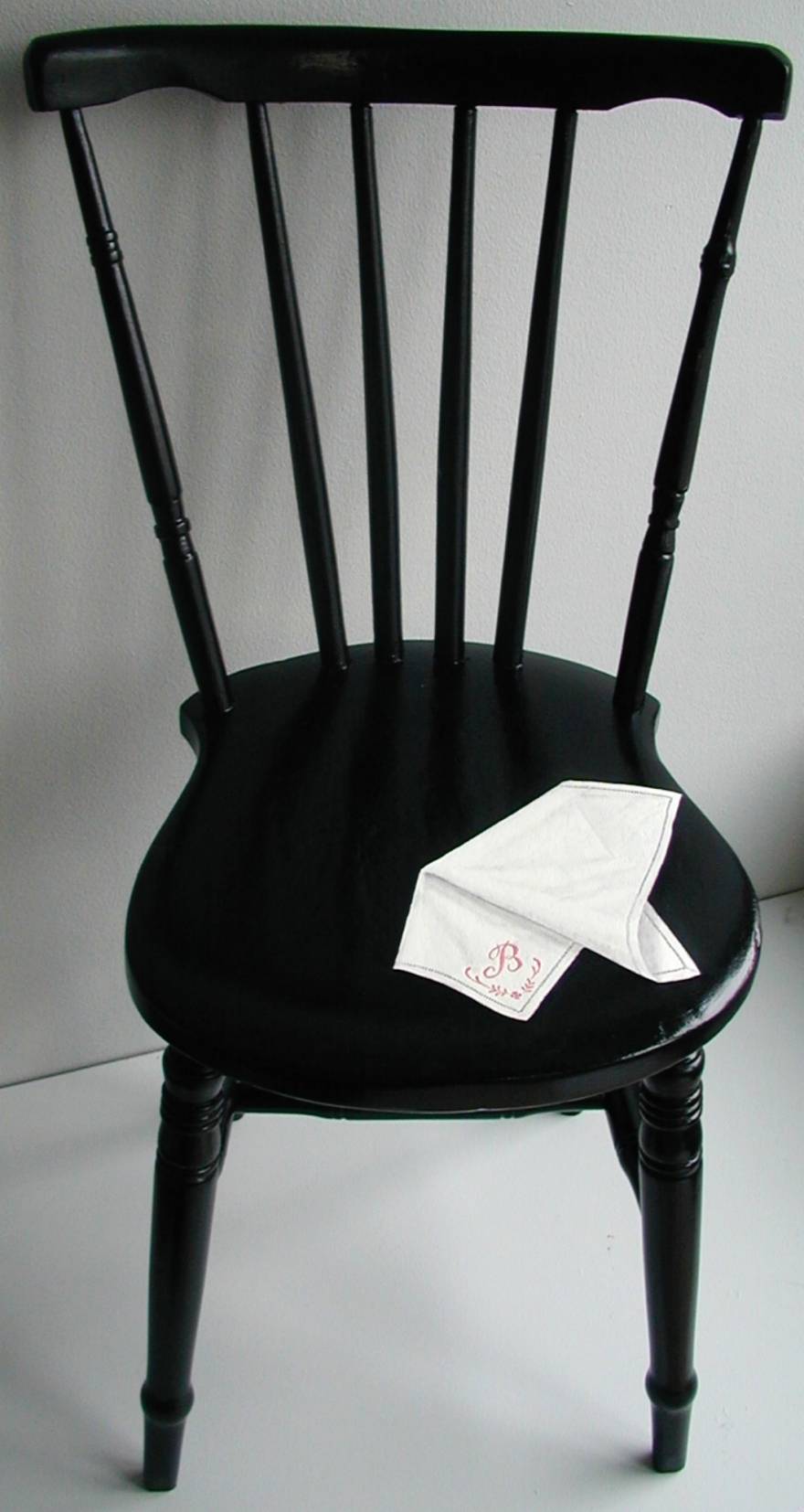Illussionsmålad stol / Trompe l'œil painted chair