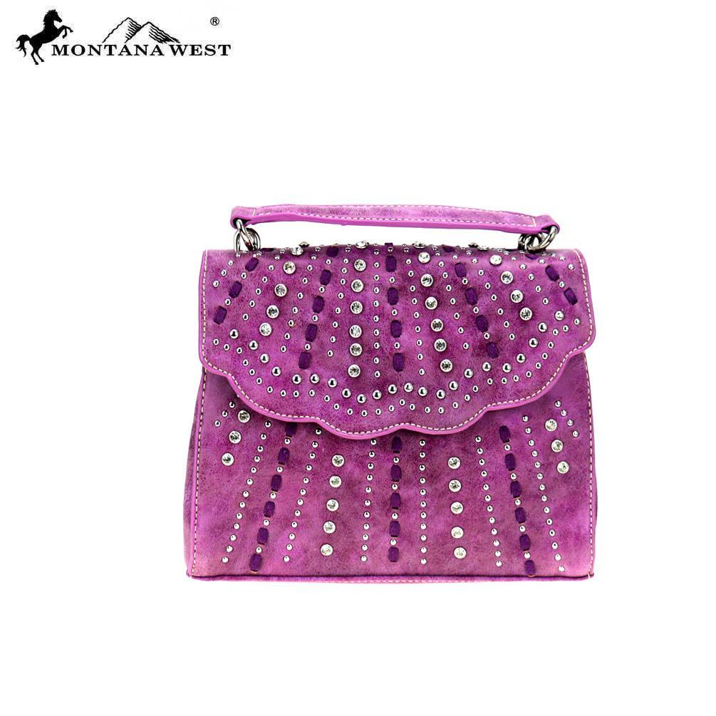 Montana West Bling Bling Collection Sacthel / Crossbody