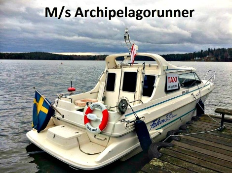 MsArchipelagorunner water taxi in Stockholm