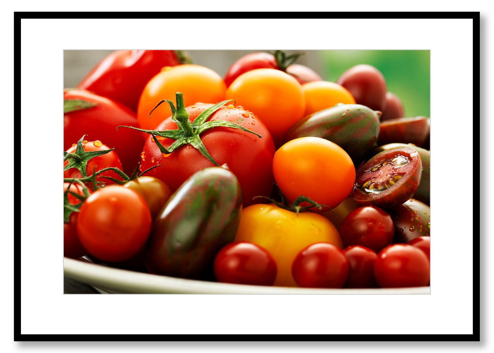 Tomatoes. Food Art. Prints for sale. Photo by Fredrik Rege